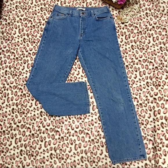 d93bfa52 Lee Denim - Lee Relaxed Straight Mom's Jean Medium Wash Jeans